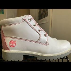 Women's Timberland Boots, Pink